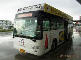 バンコクのIKEAのシャトルバス